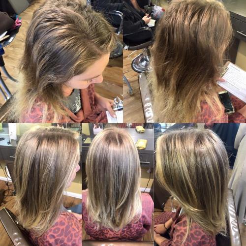 A beautiful and natural transformation by Amanda.