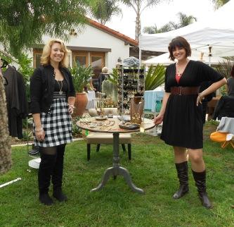 Pistachio participates in community boutique event