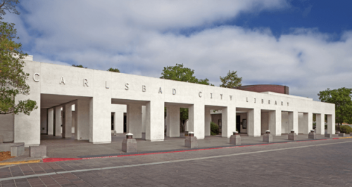 The Carlsbad City Library on Dove Lane reopened!!!