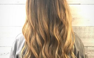 Beautifully hand painted balayage!