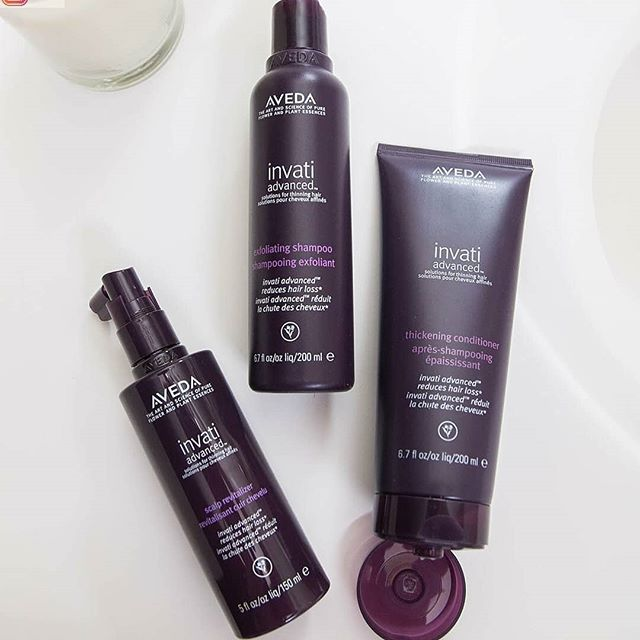 NEW Invati Advanced is just three steps for real, proven results. We know you already use shampoo and conditioner, and the Scalp Revitalizer is like a serum in a skin care regimen- but for your scalp!