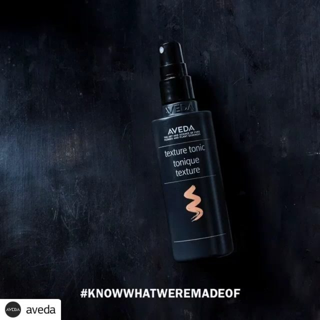 """Into texture? The cane sugar and salt in #TextureTonic work in harmony to help create naturally tousled texture and flexible hold, while leaving the hair touchable and infused with natural shine for an """"undone"""" look. Babassu helps create effortless texture."""