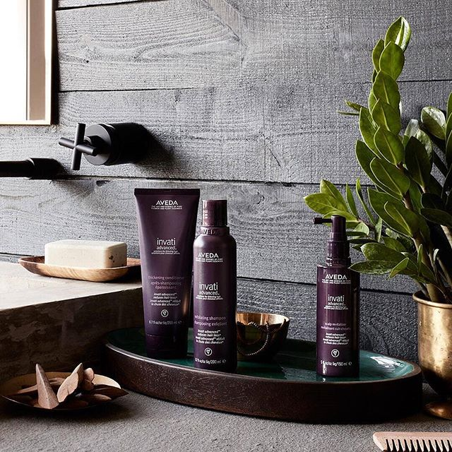 August is National Hair Loss Awareness Month and the perfect time to make our three step #Invati Advanced system a part of your life — once a day, every day — just like your morning cup of coffee or your nighttime skin care routine. Its powerful ingredients and botanical science work together each day to give you thicker, fuller hair.___________________________#instahair #instabeauty #hair #hairspiration #hairsalon #haircolor #hairstyles #hairstyling #haircut #carlsbad #sandiego #sandiegohair #carlsbadhair #aveda #avedacolor #avedaproducts #avedaartist #smellslikeaveda #crueltyfree #plazapaseoreal #hairlossawareness #invatiadvanced