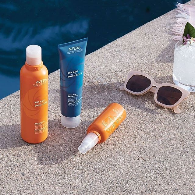The downside of summer fun? It can wreak havoc on your hair! Protect it against salt, sun and chlorine damage with our Sun Care line for UV defense and recovery — no beach bag or pool day is complete without it!___________________________#instahair #instabeauty #atthesalon #summerhair #hair #hairspiration #hairsalon #haircolor #hairstyles #hairstyling #haircut #carlsbad #sandiego #sandiegohair #carlsbadhair #aveda #avedacolor #avedaproducts #avedaartist #smellslikeaveda #crueltyfree #suncare #plazapaseoreal #sunscreen #repost @aveda