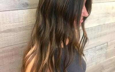 Try Pistachio's NEW Micro Strands Hair Extensions to add pops of color, fullness, and length where you need it. Create any look or style you'd like! We love how natural they look on our stunning guest, Stephanie!