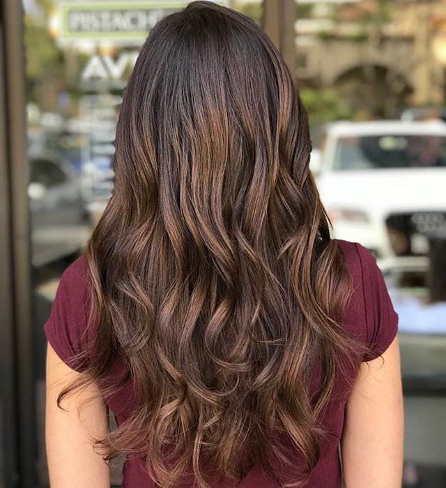 Back to naturals for this bomb shell brunette___________________________#instahair #instabeauty #atthesalon #salonlife #hair #hairspiration #hairsalon #haircolor #hairstyles #hairstyling #haircut #carlsbad #sandiego #sandiegohair #carlsbadhair #aveda #avedacolor #avedaproducts #avedaartist #smellslikeaveda #crueltyfree #botanicals #knowwhatyouremadeof #plazapaseoreal #healthyhair #happylife #brunettesdoitbetter