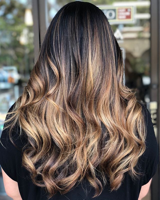 Try not to devour this Hand Painted Chocolate & Toffee Balayage too fast!  ___________________________#instahair #instabeauty #atthesalon #salonlife #hair #hairspiration #hairsalon #haircolor #hairstyles #hairstyling #haircut #carlsbad #sandiego #sandiegohair #carlsbadhair #aveda #avedacolor #avedaproducts #avedaartist #smellslikeaveda #crueltyfree #botanicals #knowwhatyouremadeof #plazapaseoreal #balayage #summerhair #brunettebalayage